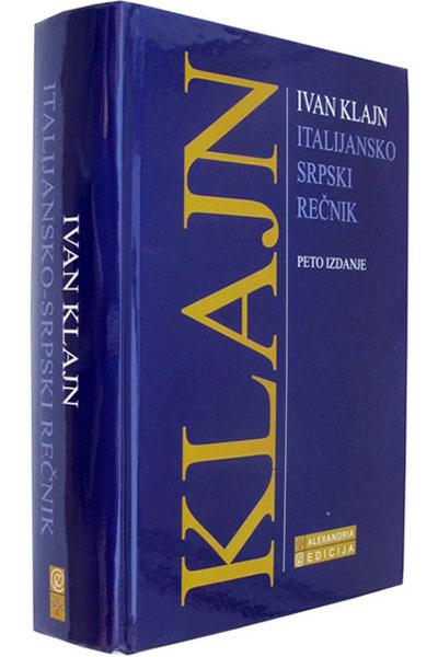 Italijansko - srpski rečnik - autor Ivan Klajn