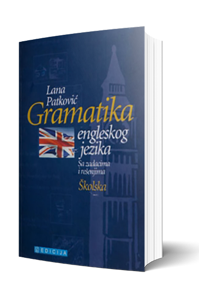 Knjiga Gramatika engleskog jezika - autor Lana Petković