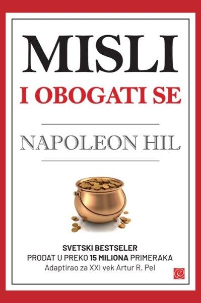 Knjiga Misli i obogati se - autor Napoleon Hil - Prednja korica