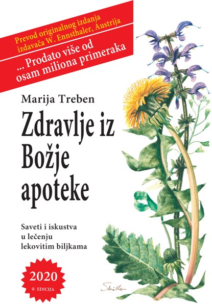 Knjiga Zdravlje iz Božje apoteke - autor Marija Treben - Prednja korica