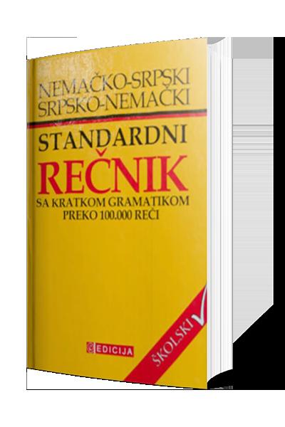 Nemačko - Srpski i Srpsko - Nemački standardni rečnik sa kratkom gramatikom