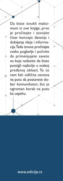 Kako komunikacijom do uspeha- autor Dejl Karnegi prednja klapna