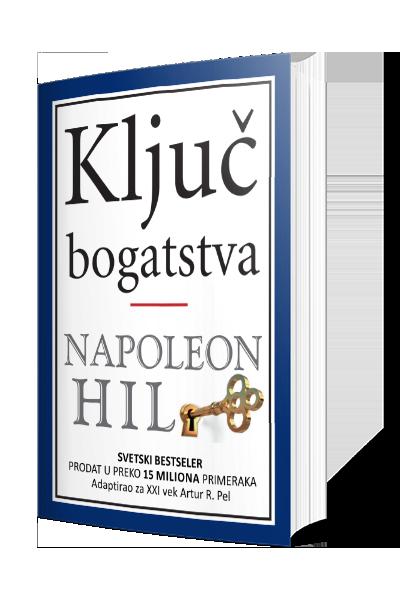 Knjiga Ključ bogatstva - autor Napoleon Hil