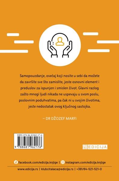 Moć podsvesti za 21. vek - za samopouzdanje i samopoštovanje - autor Džozef Marfi zadnja korica