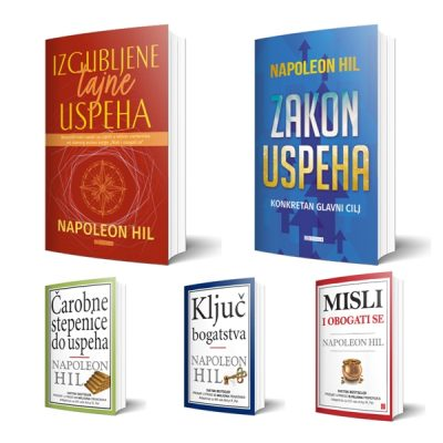 Komplet knjiga Napoleona Hila - 1-5