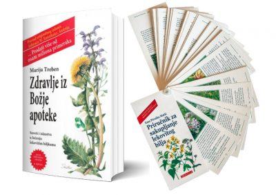 Knjiga Zdravlje iz Božje apoteke i Priručnik za sakupljanje lekovitog bilja
