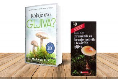 Komplet knjiga - Koja je ovo gljiva i Priručnik za branje jestivih i lekovitih gljiva