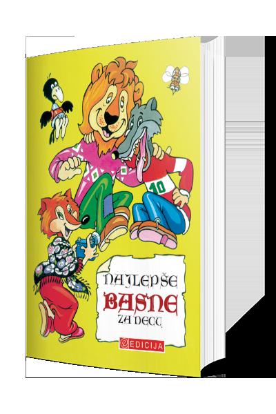 Knjiga Najlepše basne za decu - autor Dositej Obradović