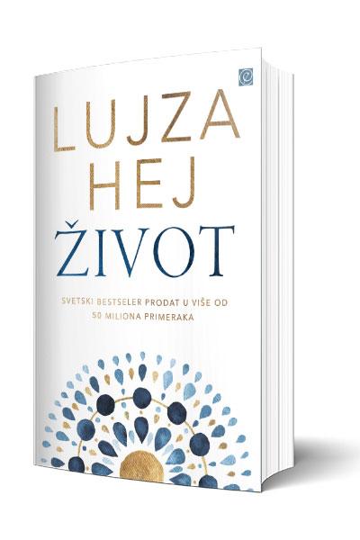 Knjiga Život - autor Lujza Hej - 3d Prednja korica