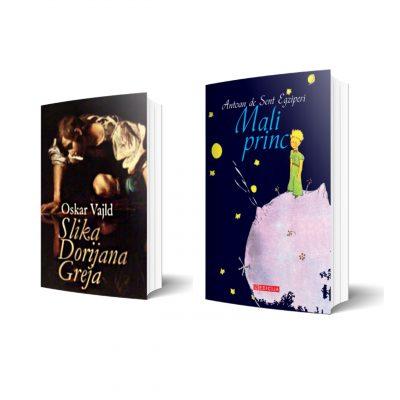 Slika Dorijana Greja i Mali Princ - Komplet knjiga 1 - 2