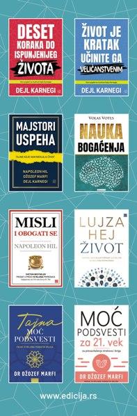 Knjiga Javnim nastupom do uspeha - autor Dejl Karnegi - Zadnja klapna
