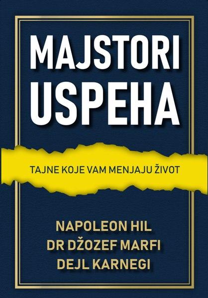 Knjiga Majstori uspeha - prednja korica