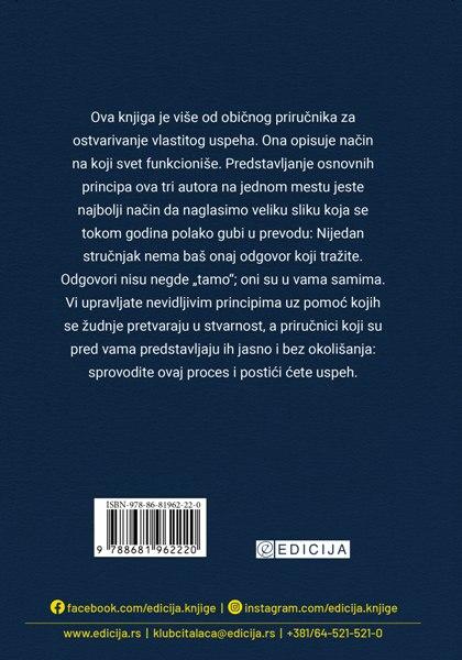 Knjiga Majstori uspeha - zadnja korica