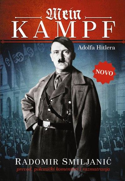 Knjiga Mein kampf - Adolf Hitler - prevod Radomir Smiljanić - prednja korica