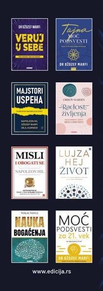 Knjiga Kako da privučete novac - autor Džozef Marfi - zadnja klapna