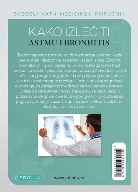 Kako izlečiti astmu i bronhitis - autor Vaidja Bagvan Daš - zadnja korica