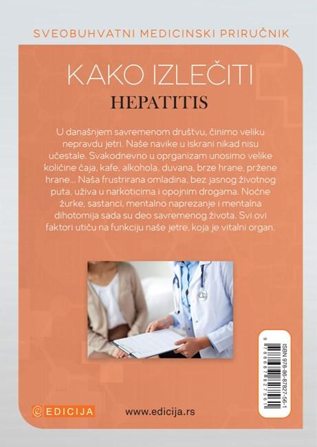 Kako izlečiti hepatitis - autor Vaidja Bagvan Daš - zadnja korica