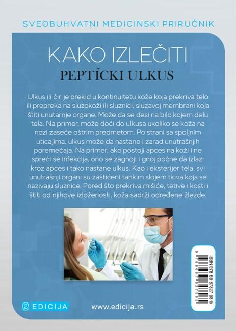 Kako izlečiti peptički ulkus - autor Vaidja Bagvan Daš - zadnja korica