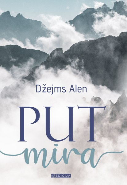 Knjiga Put mira- autor Džejms Alen prednja korica