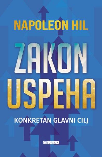 Knjiga Zakon uspeha- autor Napoleon Hil - prednja korica
