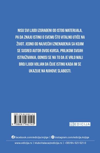Knjiga Zakon uspeha- autor Napoleon Hil - zadnja korica