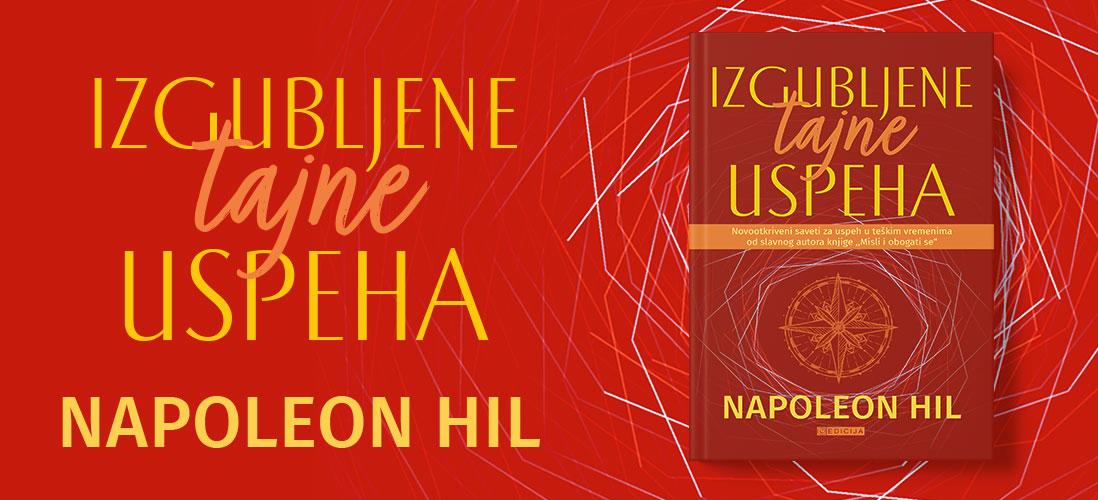 Knjiga Izgubljene tajne uspeha - autor Napoleon Hil