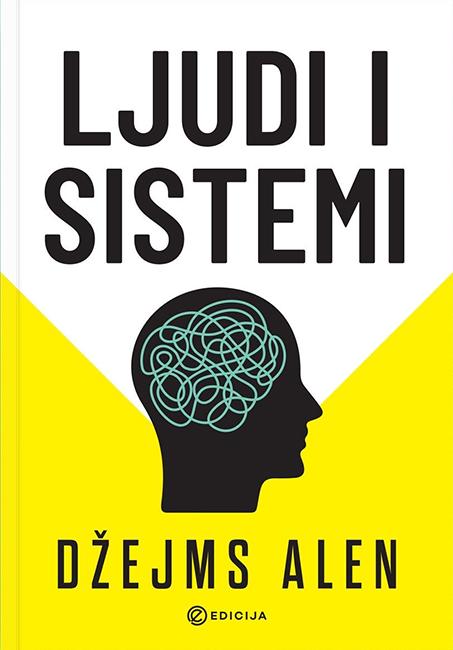Knjiga Ljudi i sistemi - autor Džejms Alen prednja korica